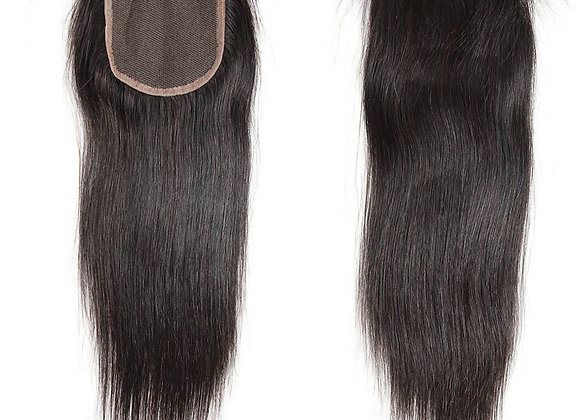 Brazilian Straight 3 Bundle Closure Deal