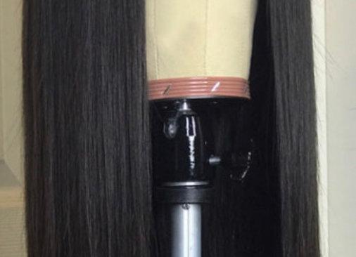 Brazilian Straight Closure Wig