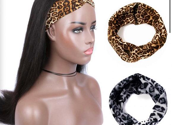 Straight Headband Wig + Free Gift