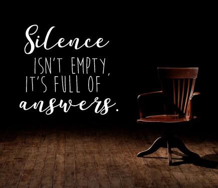 How Does Silence Speak Volumes?