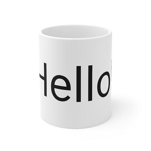 HELLO! Ceramic Mug 11oz