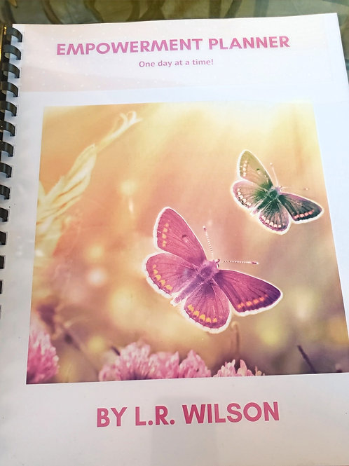 Empowerment Monthly Planner