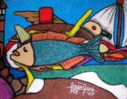 Fish-Sand