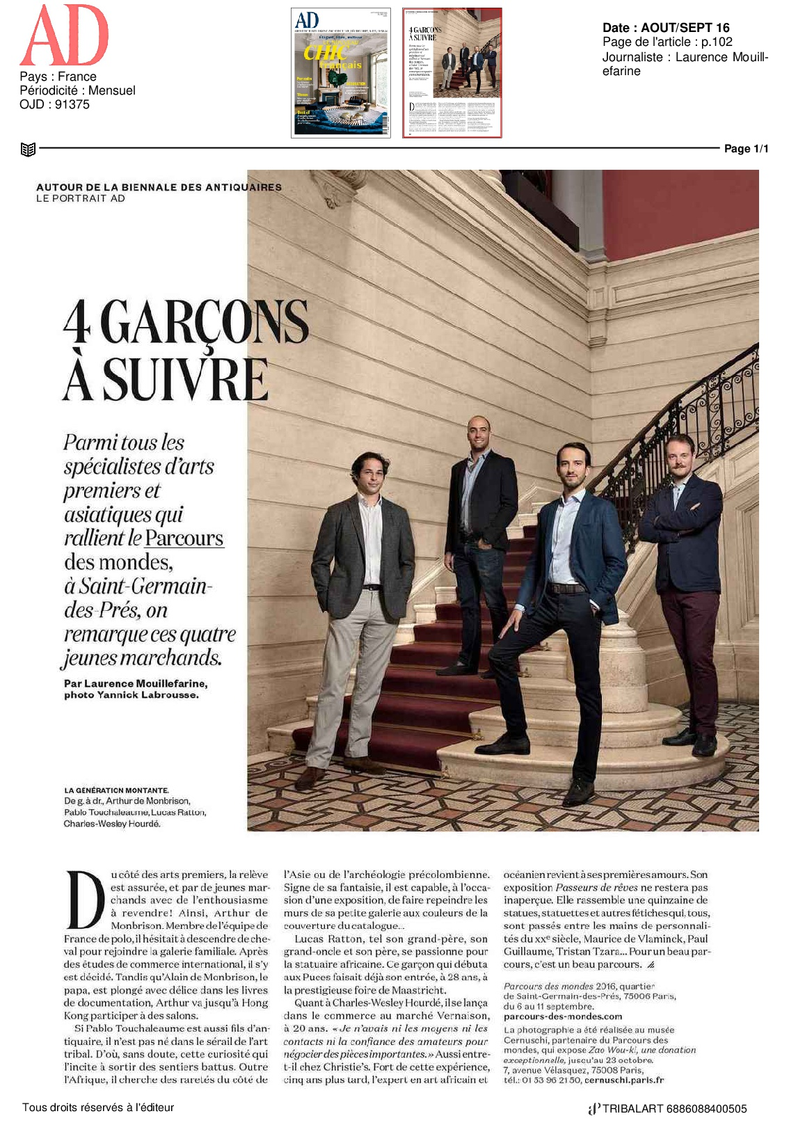 AD Aout/Sept 2016