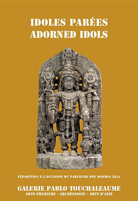 Galerie Pablo Touchaleaume Exposition Idoles Parées Adorned Idols