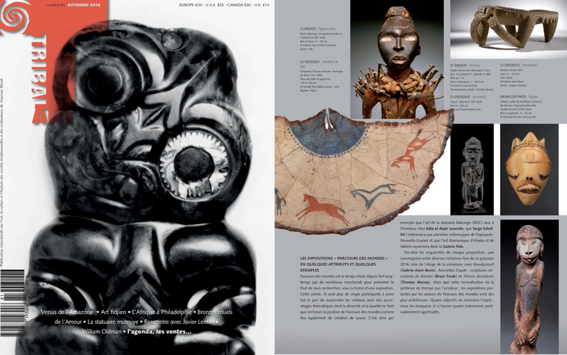 Tribal Art Magazine Automne 2016