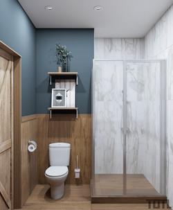 Ванная комната при основной спальне