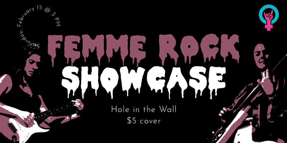 Femme Rock Valentine's Day Showcase