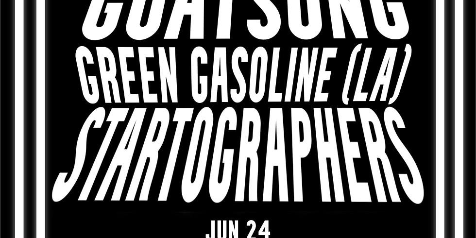 Goatsong, Green Gasoline (Louisiana), and Startographers