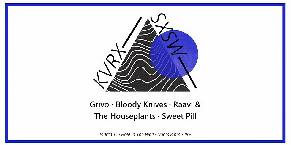 KVRX Presents: Unofficial Hole In The Wall Showcase