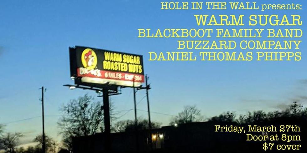 Warm Sugar, Blackboot Family, Buzzard Co., Daniel Thomas Phipps