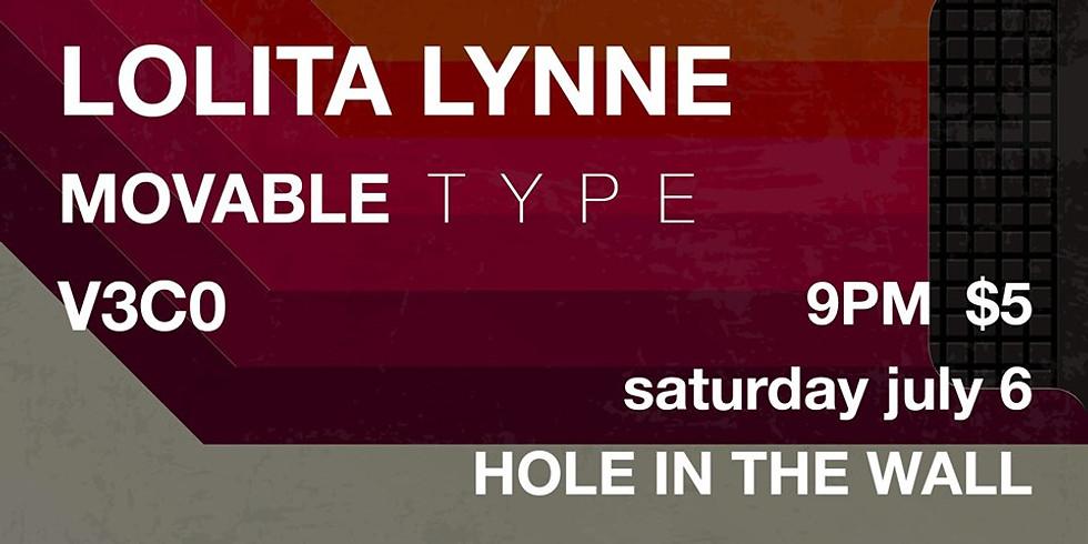 Lolita Lynne, Movable Type, V3CO