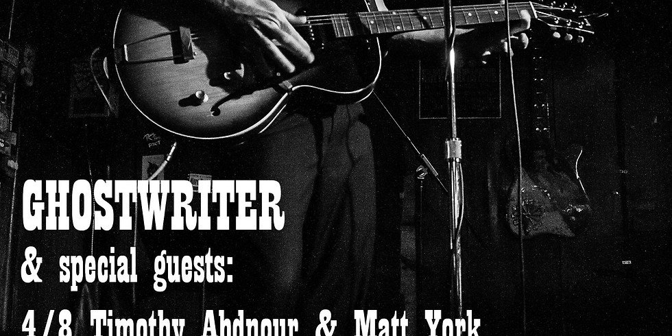 Ghostwriter, Horti, Matt Gilchrest