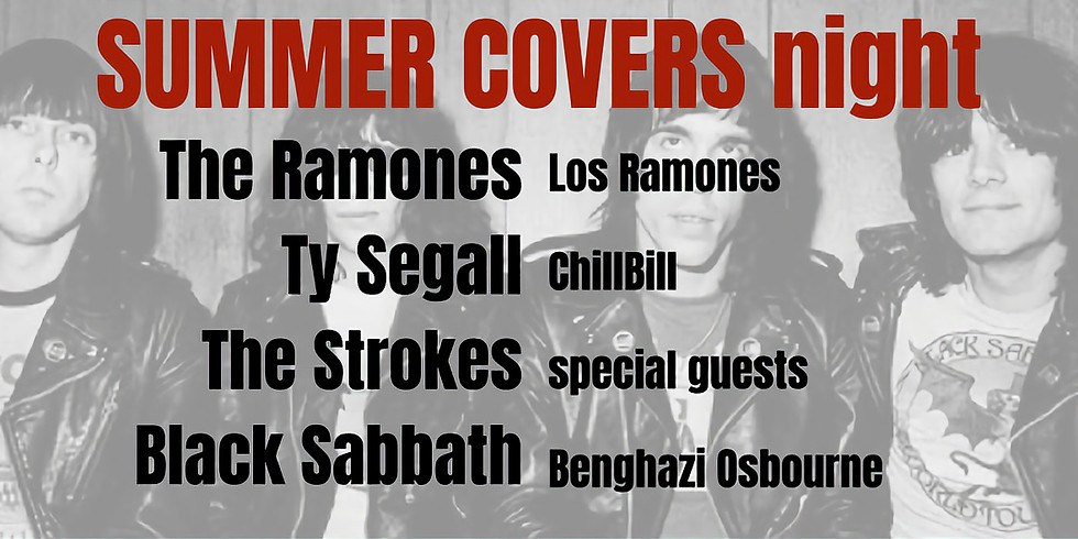 Summer Covers: The Ramones, The Strokes, Black Sabbath, Ty Segall