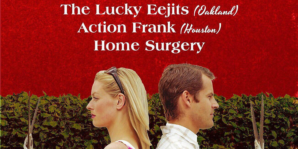 The Clastic, From Parts Unknown, The Lucky Eejits, Action Frank, Home Surgery