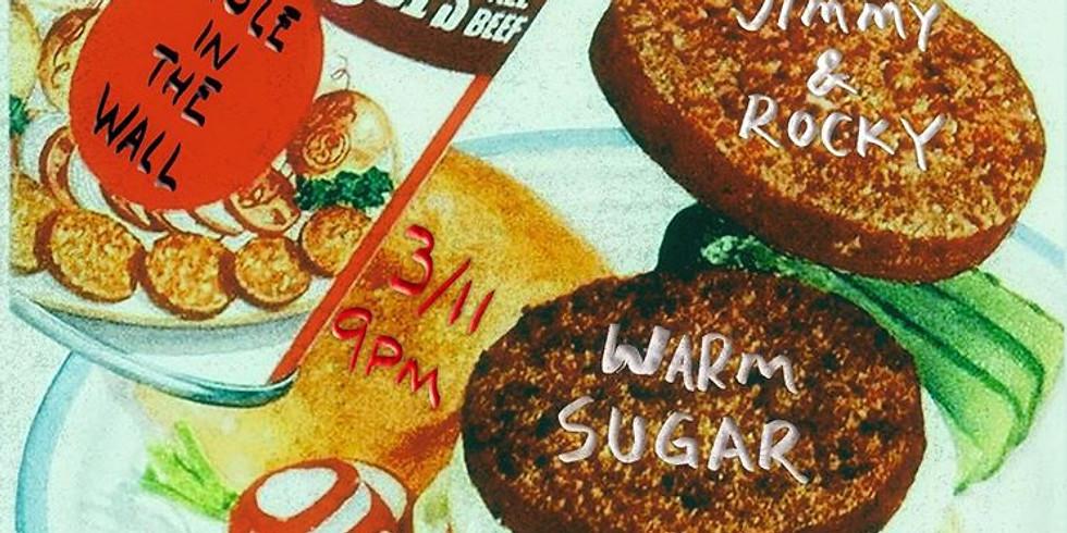Warm Sugar, Pete Stafford + Friends, Jimmy & Rocky