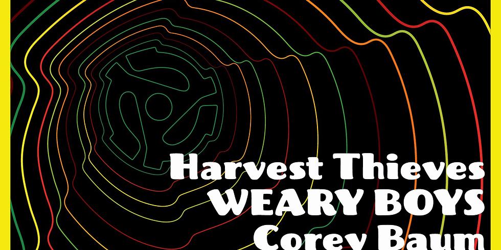 Harvest Thieves, Weary Boys reunion, Corey Baum