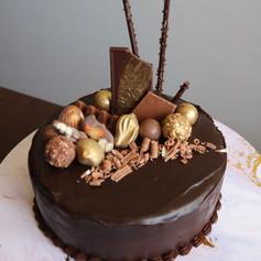 Chocolate Mud with Chocolate Ganache