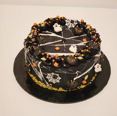 Halloween Cake (Chocolate Mud)