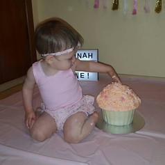 Cake Smash Giant Cupcake
