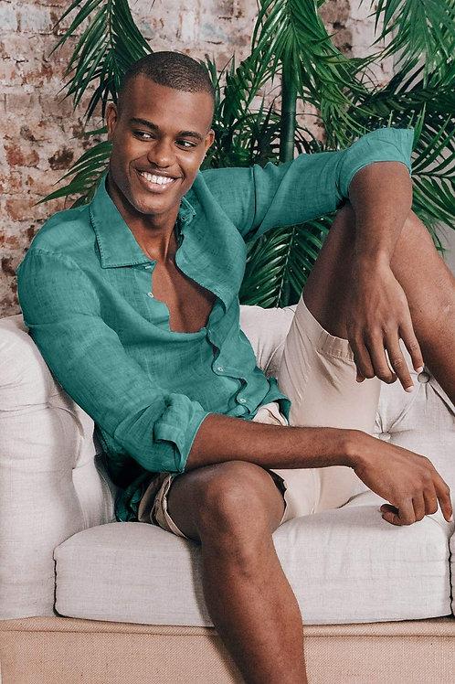 Camicia Ploumanac'h Lino Bahamas