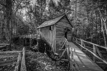 Cades Cove Cable Mill in the Great Smoky Mountains