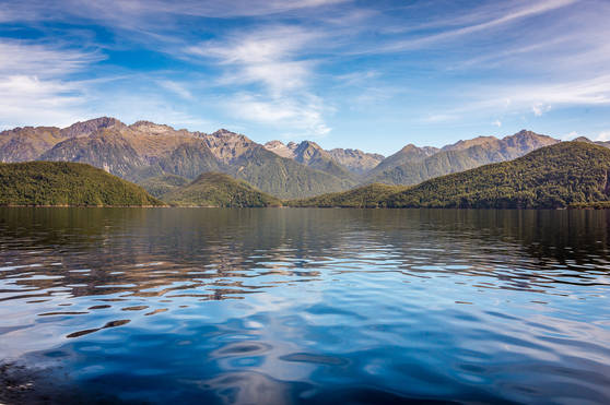 Reflections in Lake Manapouri