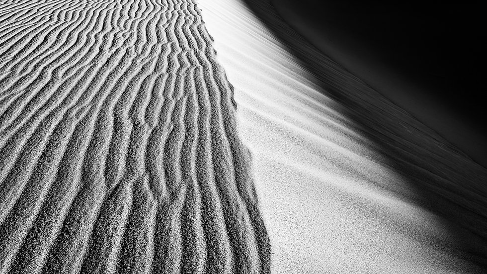 Sand Dune Ripples of Death Valley