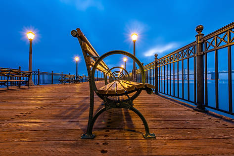 Benches of Pier 7