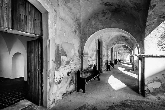 Hallways of Castillo de San Cristóbal