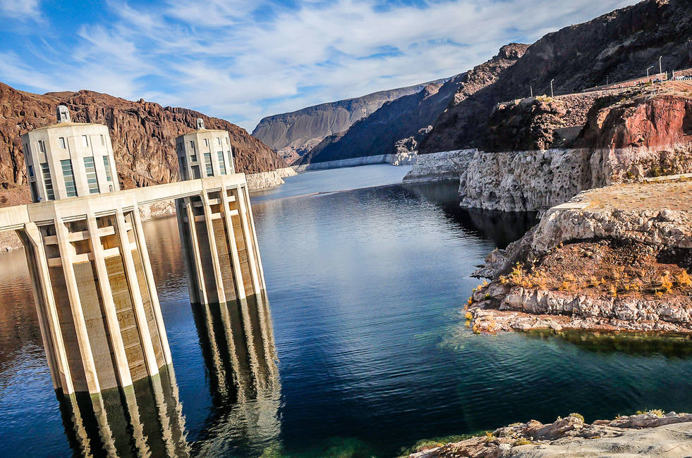 Lake Mead and the Hoover Dam