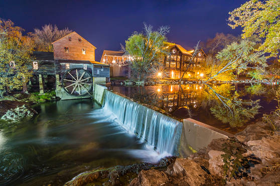 The Old Mill of Pigeon Forge