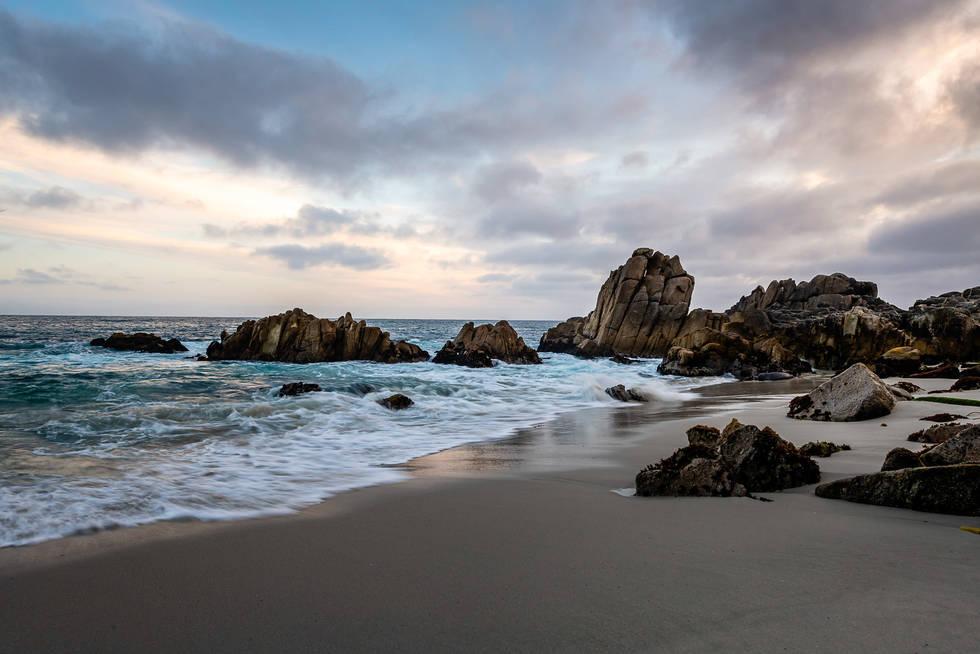 Monterey Bay at Dawn