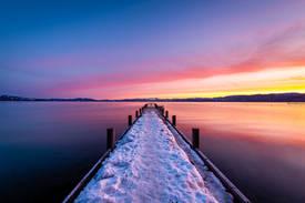 South Lake Tahoe Sunrise