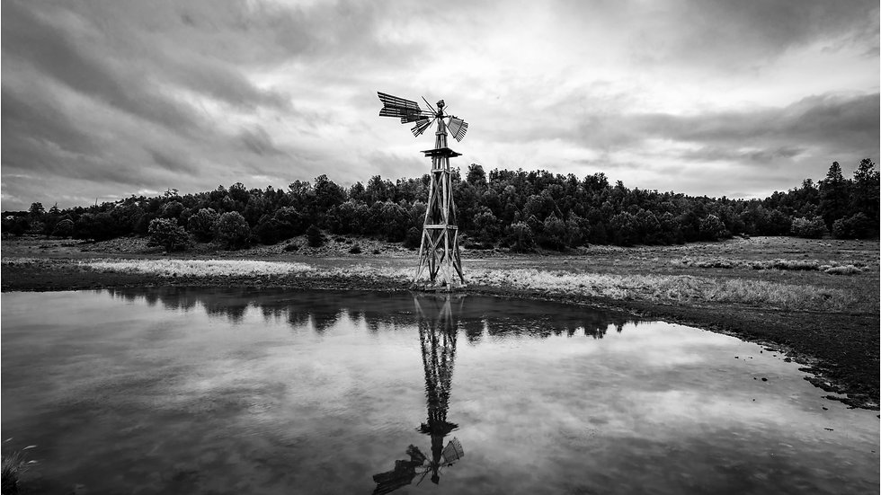 Reflections of a Windmill