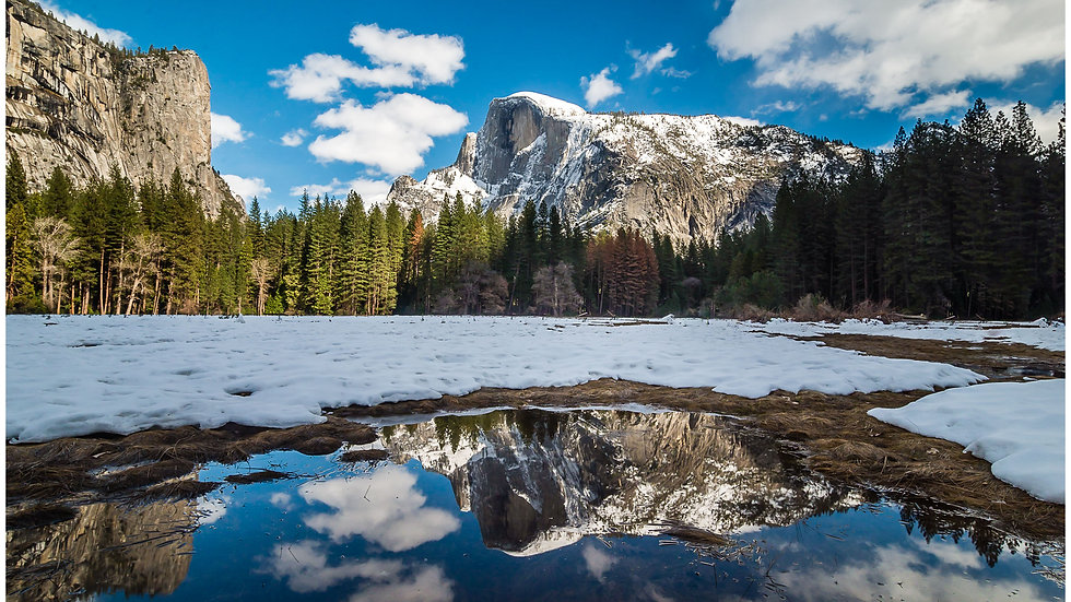 Yosemite Winter Magic
