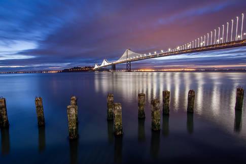 San Francisco Bay Bridge from the Embarcadero