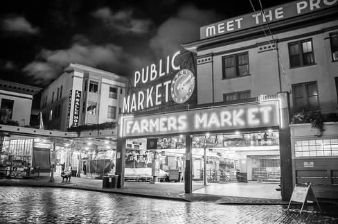 Pike's Place Public Market of Seattle