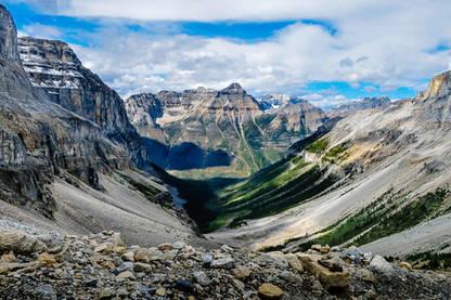 The Canadian Rockies and Kootenay Park