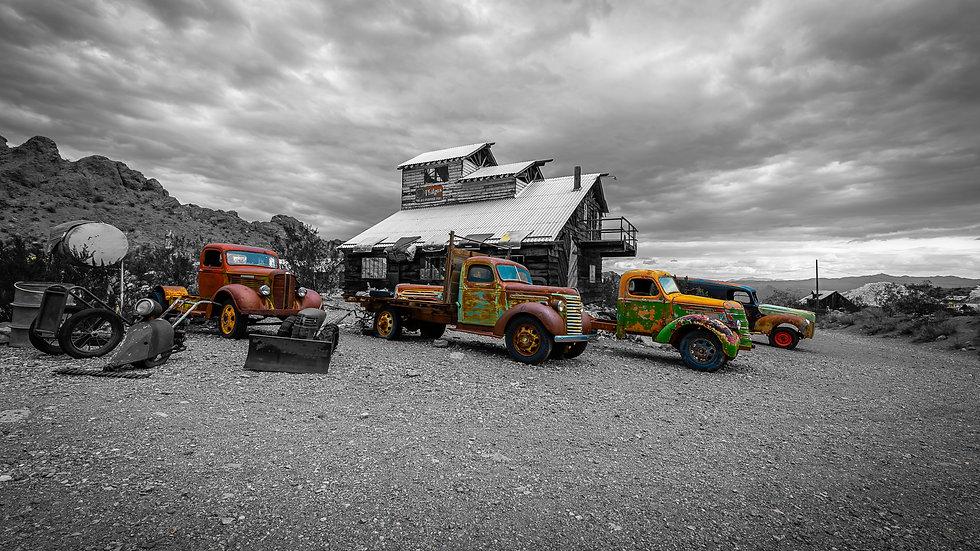 Vintage Trucks of Nelson