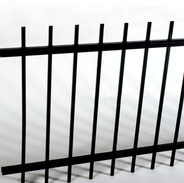 Example of Dangerous Exposed or Open Picket Fence