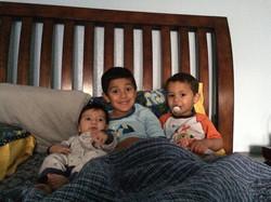 Kade & his brothers
