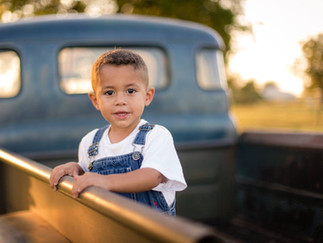 Kade in truck