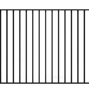 Safer Flat Top Alternative Fence Style