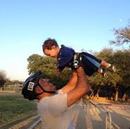 Kade & his Dad