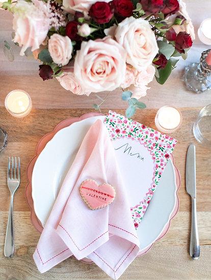 Valentine's Tablescape Box