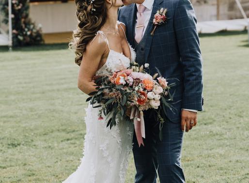 A Stylish Marquee Wedding