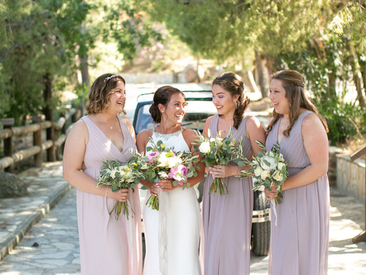 A Cyprus Countryside Wedding