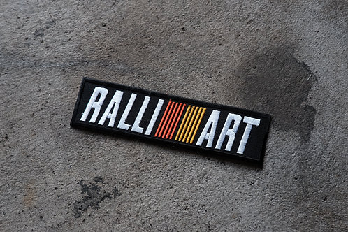 MNFR Part Number: IM019 - Ralliart Patch