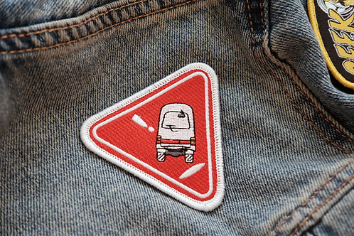 "MNFR Part Number: DC011 - 3"" Tippy Van Patch"